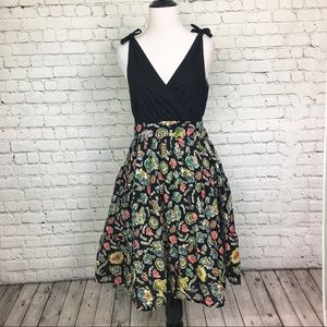MAEVE | V-Neck Dress | Bows | Pockets | Bora Bora